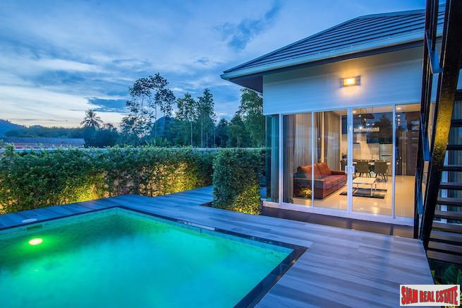 Unique Single Storey Three Bedroom House with Pool and Roof Terrace near Ao Nang Beach, Krabi