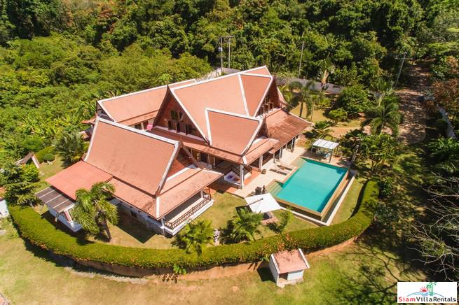 Beautiful Four Bedroom Thai Style Home on a Peaceful Yamu Property