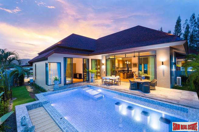 Tropical and Modern Three Bedroom Pool Villa Development in Hua Hin
