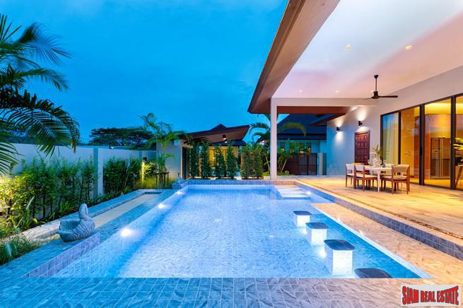 Attractive and Functional Three Bedroom Pool Villa Development in Hua Hin
