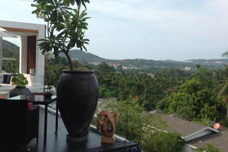 STYLISH KOH SAMUI FOR SALE WITH PANORAMIC VIEWS  S1129