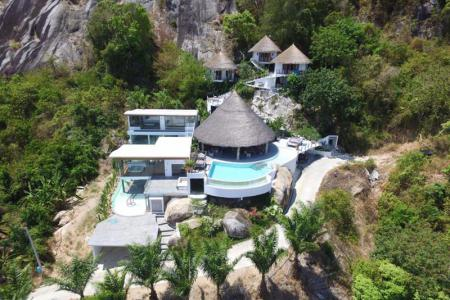 4 BEDROOM FAIRYTALE KOH SAMUI VILLA FOR SALE  S1145