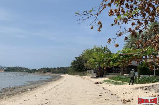 KOH SAMUI BEACHFRONT LAND FOR SALE - PRIME LOCATION  S1651