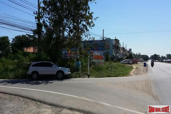 Land Plot for Sale with Road Frontage in Nong Kae Sub-District of Hua Hin