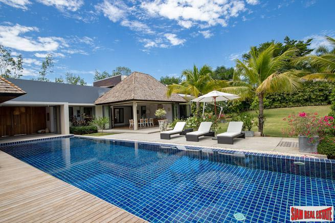 Exclusive Four Bedroom Pool Villa with Quality Workmanship in Layan