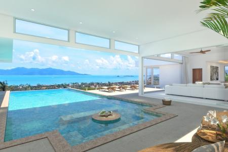 EXTENSIVE KOH SAMUI VILLA FOR SALE WITH AMAZING SEA VIEWS  S1658