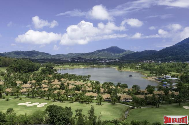 Hillside Land Plot with Magnificent Views in Loch Palm, Phuket