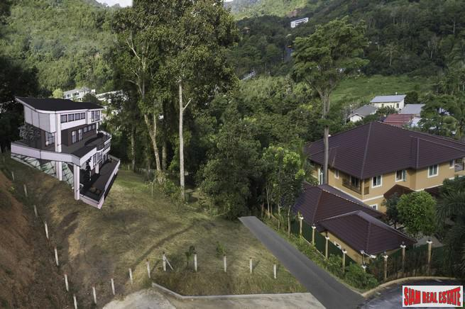 Hillside Land Plot with Magnificent 2