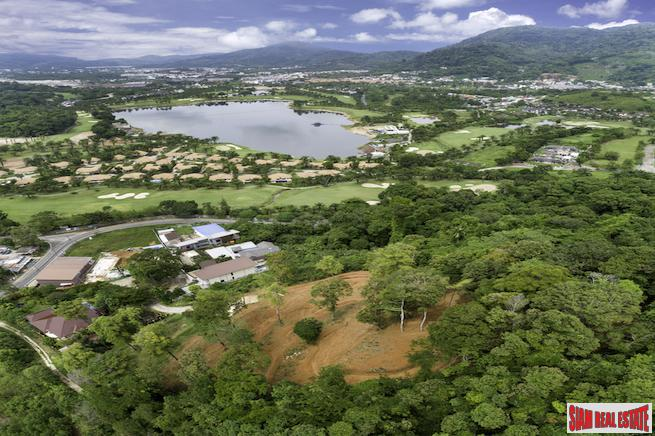 Large 4-Rai Land Plot for Sale with Fantastic Views of Kathu & Loch Palm Golf Course