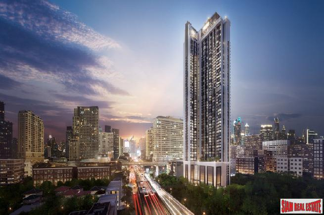 Prestige-Luxury High-Rise Condo by Leading Thai Developers at Siam next to BTS Ratchathewi - Two Beds