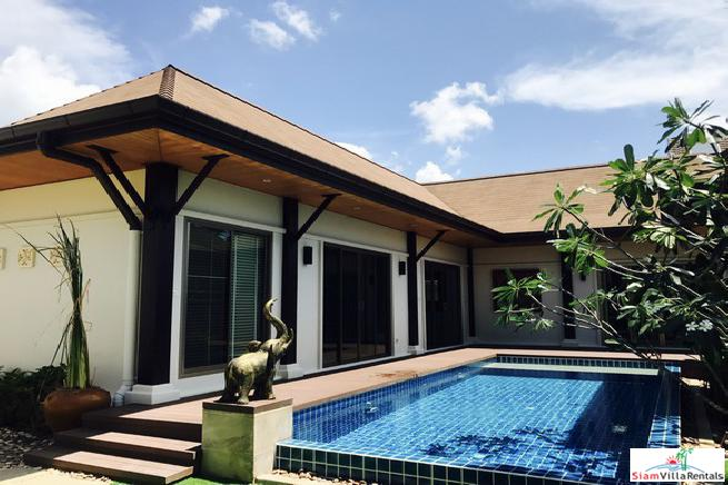 Two Villa Niche | Balinese Style Three Bedroom Private Pool Villa for Sale in Rawai