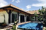 Balinese Style Three Bedroom Private Pool Villa in Rawai