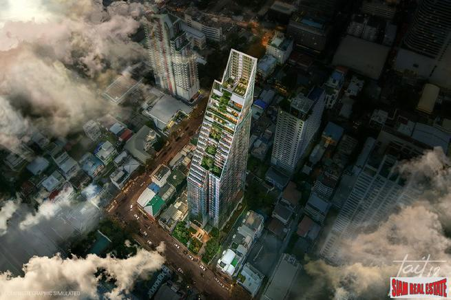 New Launch Super Luxury Condo at Silom by Raimon Land PLC and Tokyo Tatemono - Two Bed Units
