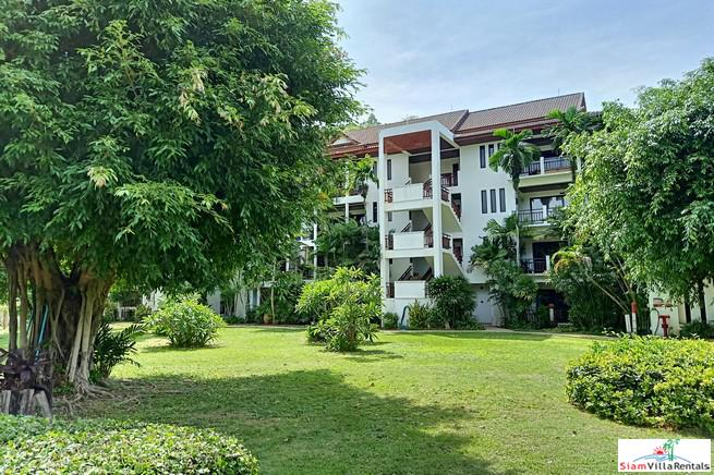 Walk to Nai Harn Beach from this Two Bedroom Furnished Condo