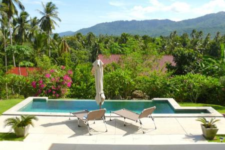 KOH SAMUI VILLA FOR SALE WITH FANTASTIC OUTDOOR SPACE  S1168
