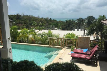SEA VIEW KOH SAMUI VILLA FOR SALE WALK TO THE BEACH  S904