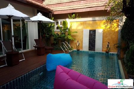 Private Pool Villa with Three Bedrooms and Tropical Surroundings in Rawai, Phuket