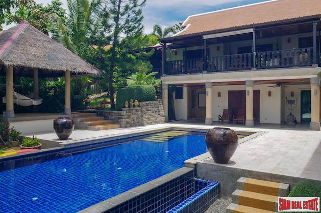 Luxurious Four Bedroom Pool Villa in Nai Harn's Most Prestigious Development