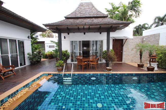 Beautiful and Well Maintained Two Bedroom Balinese Style Pool  Villa in Nai Harn