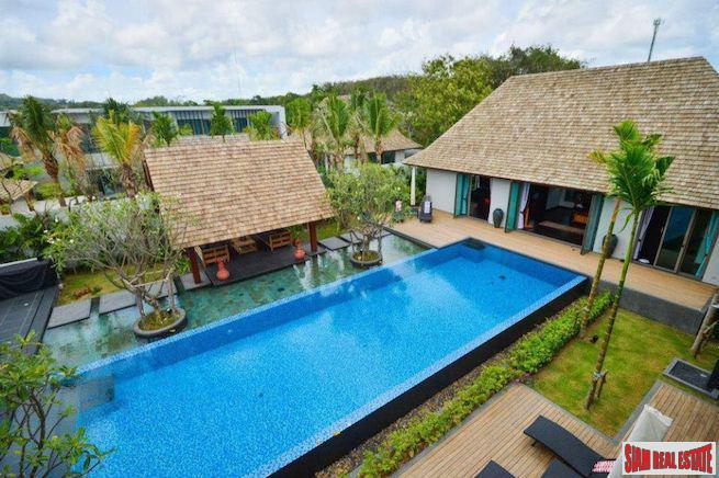 Amazing Five Bedroom Luxury Pool Villa with Three Pavilions in Cherng Talay