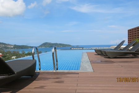 Fantastic Sea Views from this Studio Condominium on the Hillside of Patong Bay