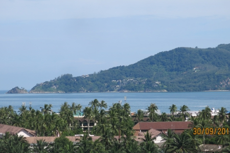 Patong Bay Sea Views from this Studio Condominium