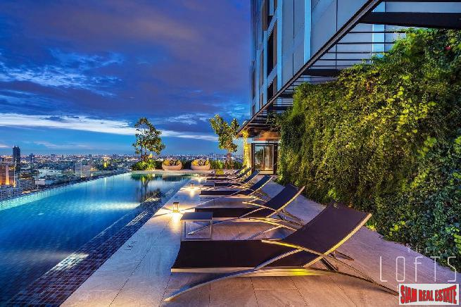 Luxury Loft Condos in Construction at Silom by Leading Thai Developer