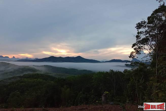 Investment Land with Spectacular Phang Nga Bay Views in Takua Thung