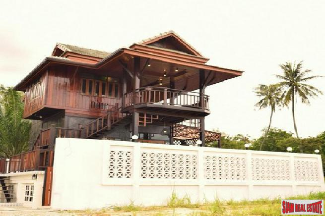 Special Thai style house for rent and for sale in the east Pattaya- Nongket yai