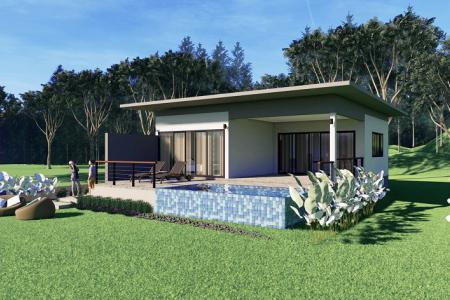 Two Bedroom Sea View Pool Villa for Sale in Koh Lanta.
