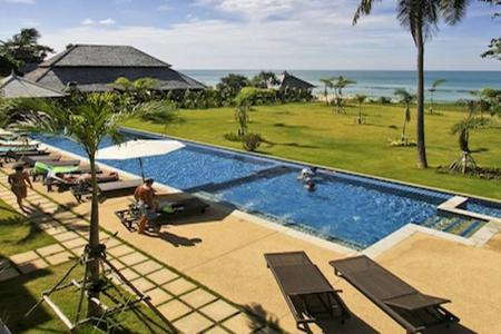 Absolute Beach Front Apartments for Sale in Koh Lanta, Thailand.