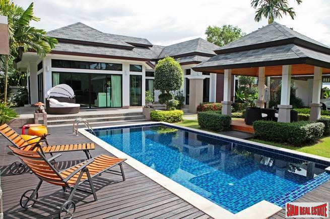 Tanode Villa | Tropical Three Bedroom Pool Villa with Lush Mature Gardens in Layan