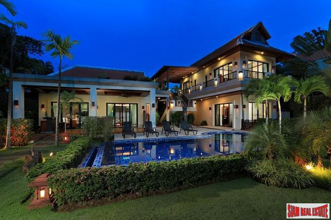 Exquisite Four Bedroom Tropical Pool Villa in Secluded Nai Harn