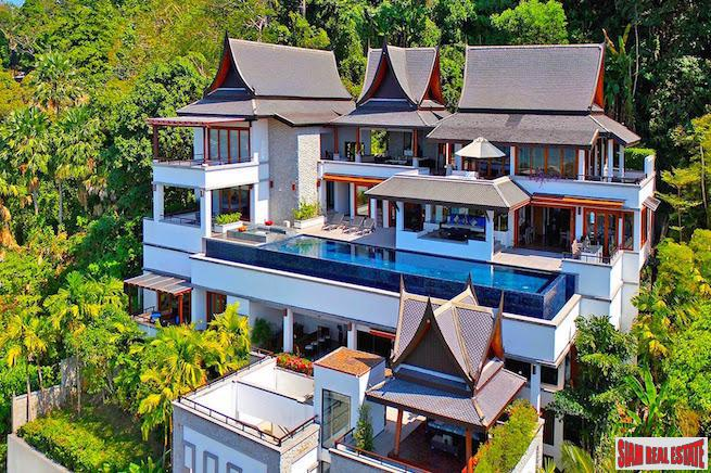 Baan Thai Surin Hill Estate | Amazing Five Bedroom Villa With Andaman Sea Views in an Exclusive Estate
