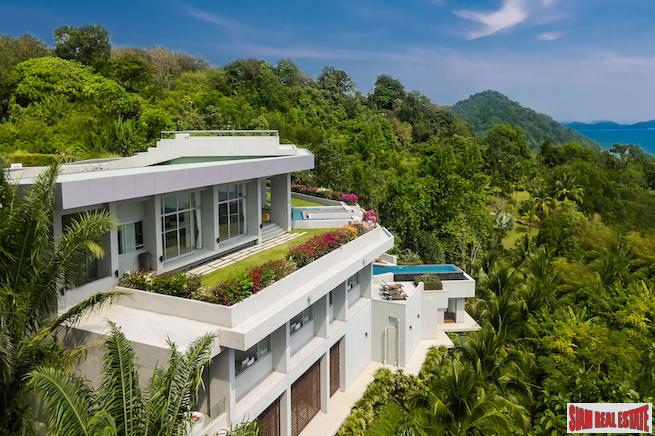 Villa Leelawadee | Spectacular Pool Villa Overlooking Beautiful Phang Nga Bay in Ao Po