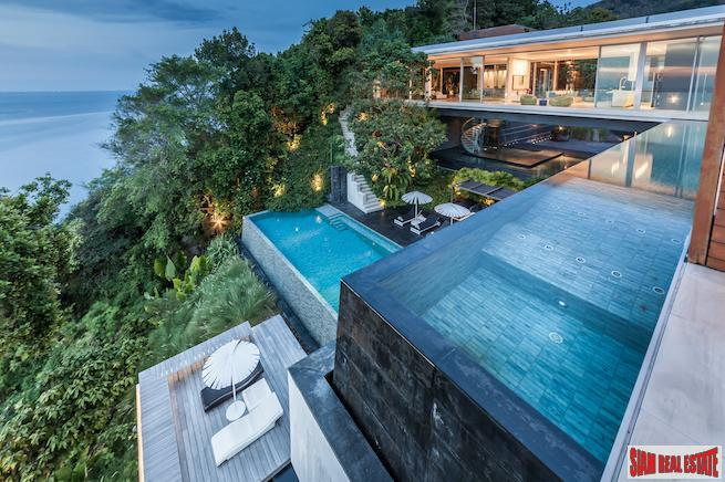 Extraordinary Luxurious Pool Villa Overlooking the Andaman Sea in Kamala, Villa Mayavee