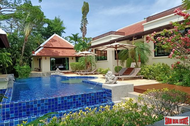 Private Tropical Three Bedroom Pool Villa Retreat in Nai Harn
