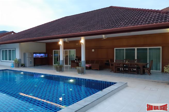 Large Three Bedroom House with Private Pool in a Quiet Area of Kamala