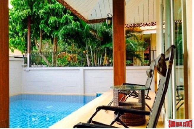 3 bedroom pool villa with private swimming pool for sale and rent - East Pattaya