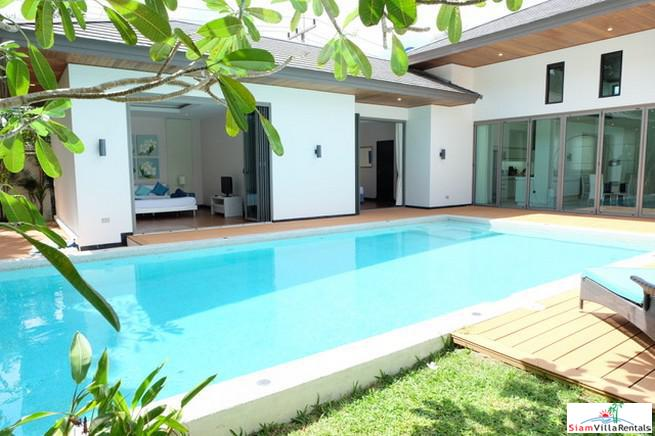 Tropical Four Bedroom Villa with Extra Large Pool and Near Bang Tao Beach