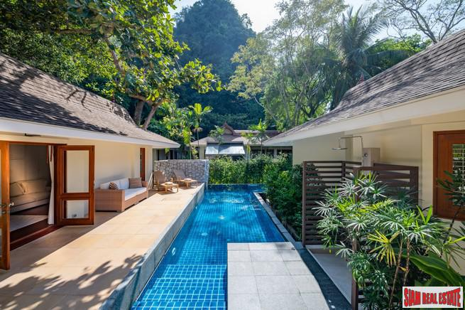 Luxurious Unique 3 Bedroom Beachfront Villa on PhraNang Beach in Ao Nang