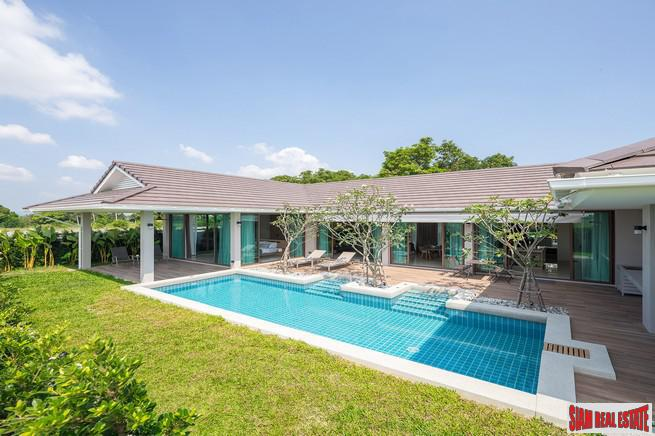 New Three Bedroom Pool Villa Development with Private Pools and Greenery in Hua Hin