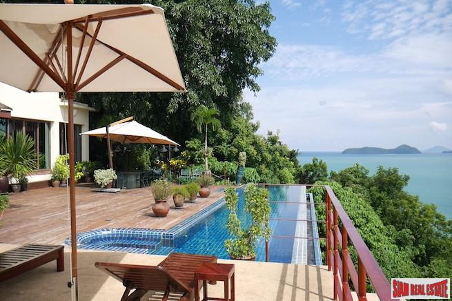 Linda Bay | Incredible Sea Views and Sunsets over Ao Yon Bay from this Seven Bedroom Pool Villa