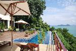 Incredible Sea Views and Sunsets over Ao Yon Bay from this Seven Bedroom Pool Villa