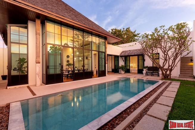Private Two & Three Bedroom Pool Villa in a New Cherng Talay Luxury Development