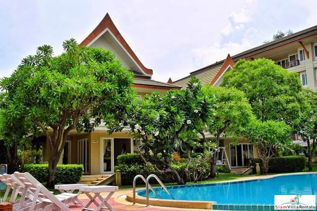 Spectacular Three Bedroom Thai Style Villa For Rent Steps from the Beach in Cha Am