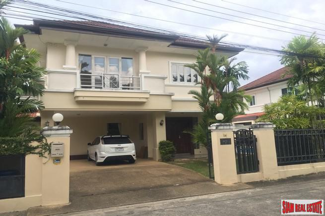 Three Bedroom Pool Villa in Quiet and Secure Chalong Estate