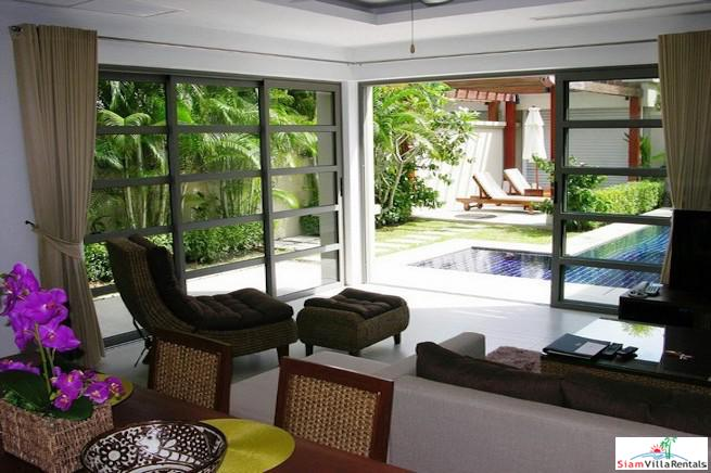 Luxury Two Bedroom Pool Villa for Rent in Estate 10 Minutes Walk to Bangtao Beach
