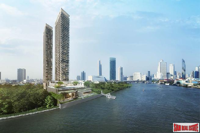 Pre-Launch - Best Waterfront Living in the Heart of Bangkok (Sathorn-Chareonnakorn) - One Bed Units