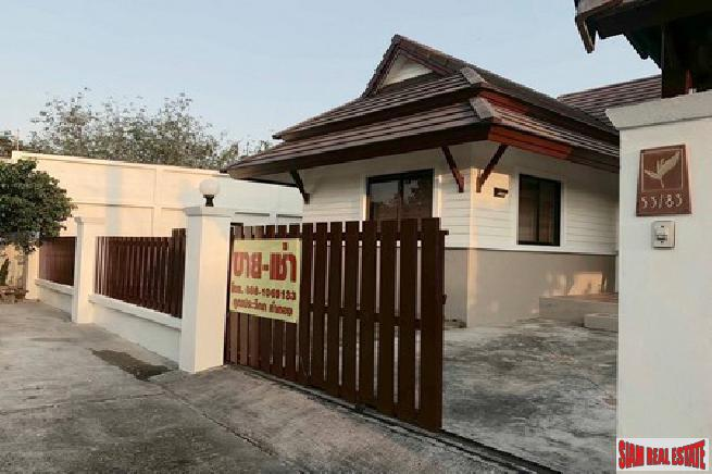 Unfurnished  2 bedroom house in a tropical area for sale - East Pattaya